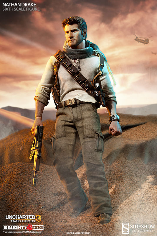 Nathan Drake Sixth Scale Figure by Sideshow Collectibles
