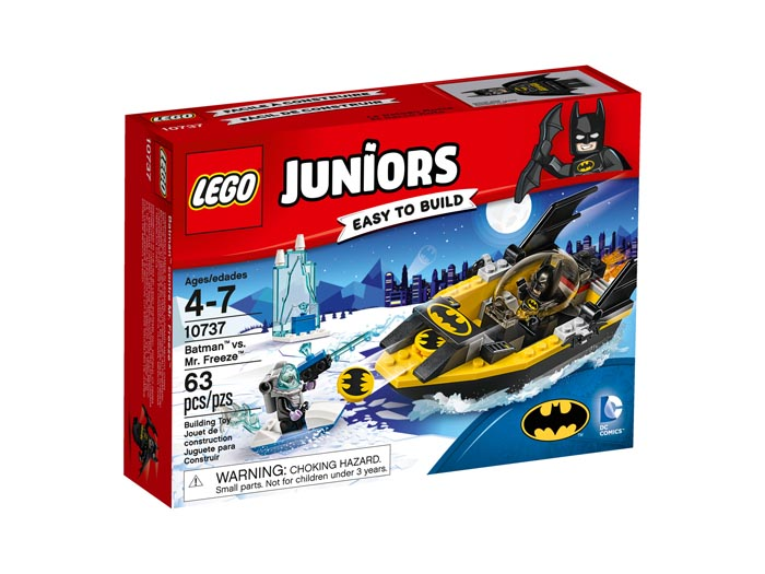 LEGO Juniors 10737 Batman vs Mr Freeze