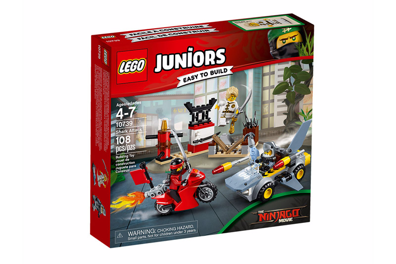 LEGO 10739 Juniors Shark Attack