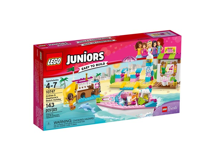 LEGO Juniors 10747 Andrea and Stephanies Beach Holiday
