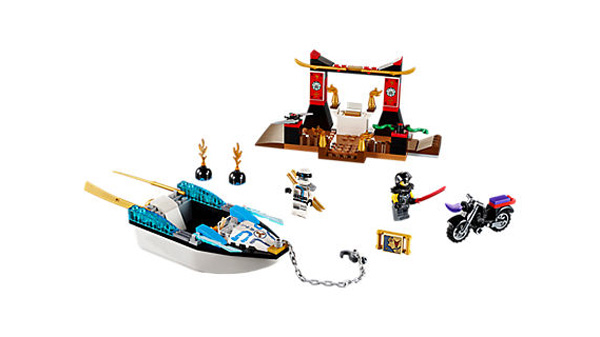 Juniors 10755 Zanes Ninja Boat Pursuit
