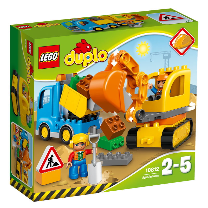 DUPLO 10812 Truck and Tracked Excavator