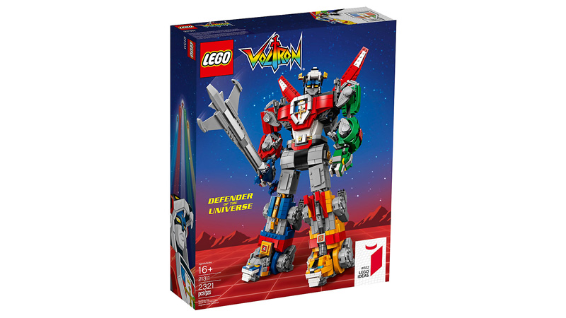 IDEAS 21311 Voltron