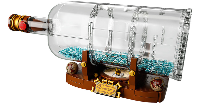 IDEAS 21313 Ship in a Bottle