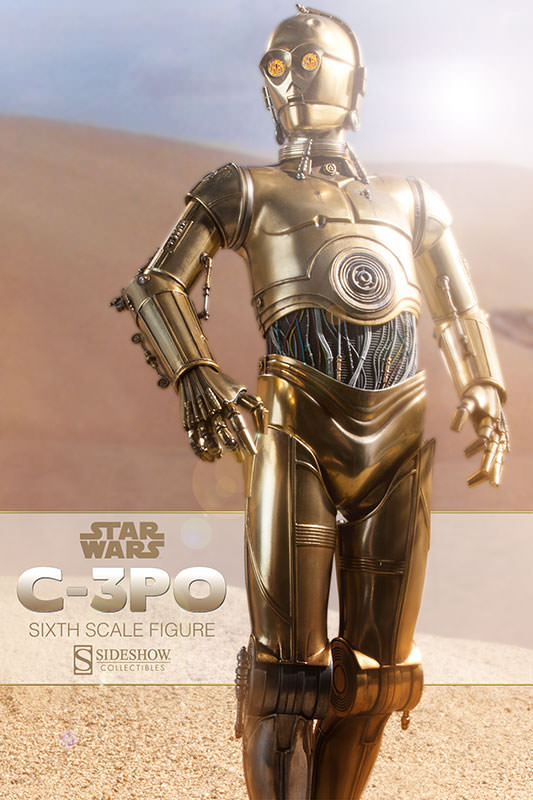 C 3PO Sixth Scale Figure by Sideshow Collectibles