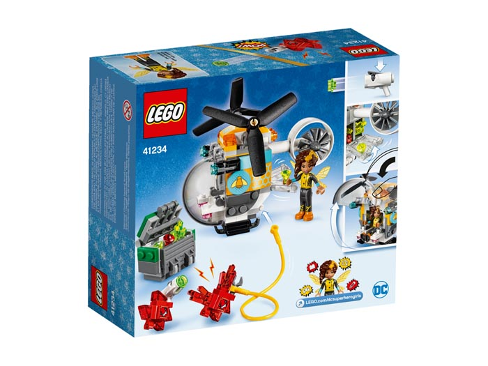 LEGO® DC Super Hero Girls 41234 Bumblebee Helicopter