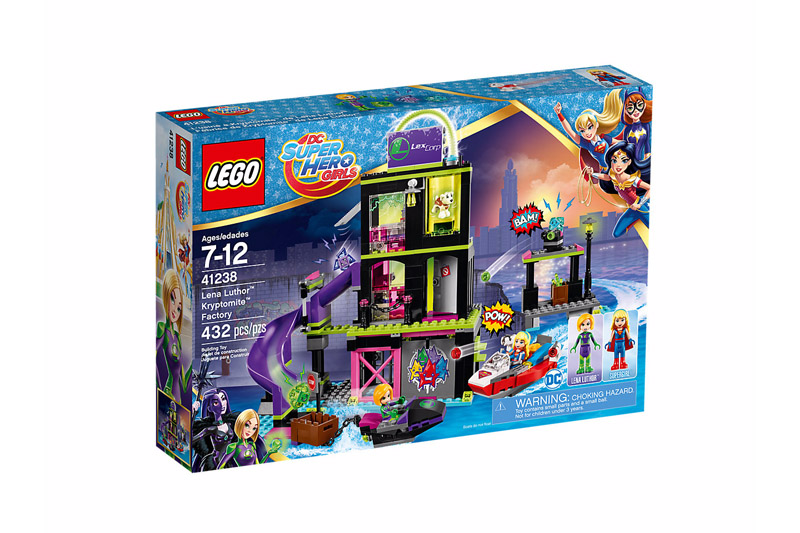LEGO 41238 DC Super Hero Girls Lena Luthor Kryptomite Factory