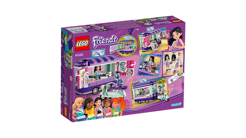 LEGO 41332 Friends Emmas Art Stand