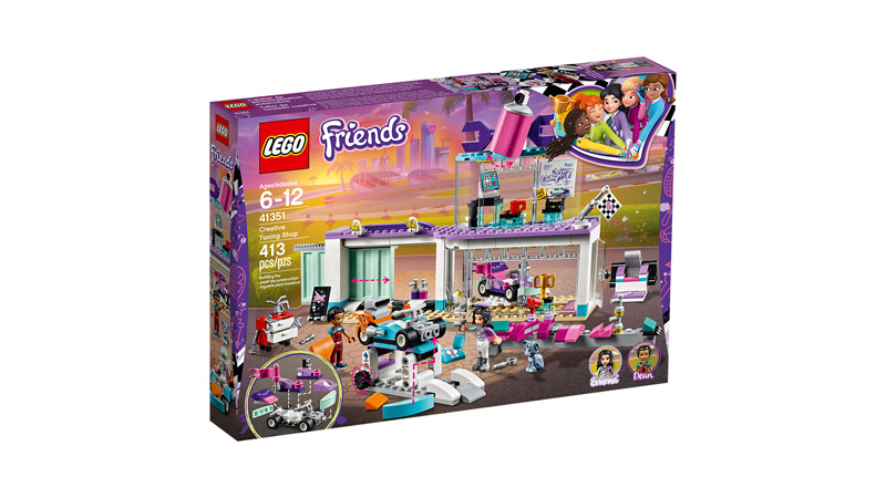 Friends 41351 Creative Tuning Shop