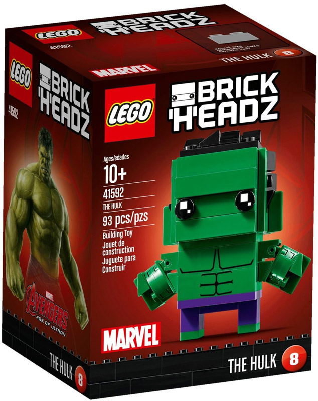 LEGO 41592 BrickHeadz The Hulk