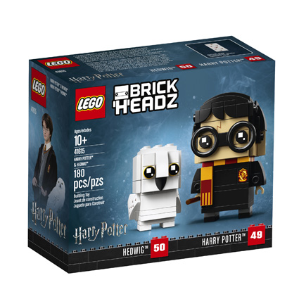 BrickHeadz 41615 Harry Potter and Hedwig