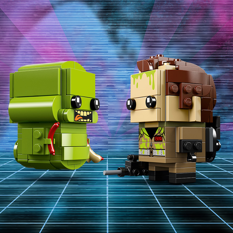 BrickHeadz 41622 Peter Venkman and Slimer