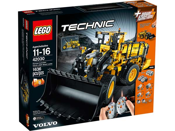 LEGO TECHNIC 42030 Remote-Controlled VOLVO L350F Wheel Loader