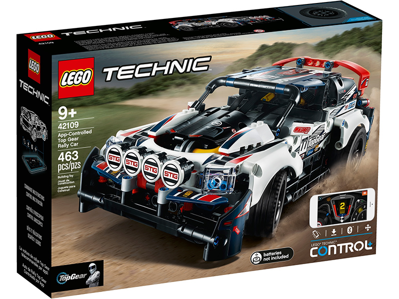 Technic 42109 App Controlled Top Gear Rally Car