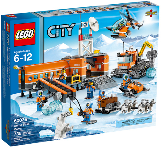 CITY Arctic Base Camp 60036 Dent