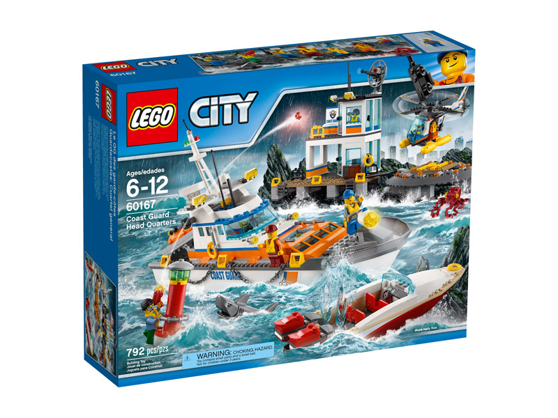 LEGO 60167 CITY Coast Guard Head Quarters