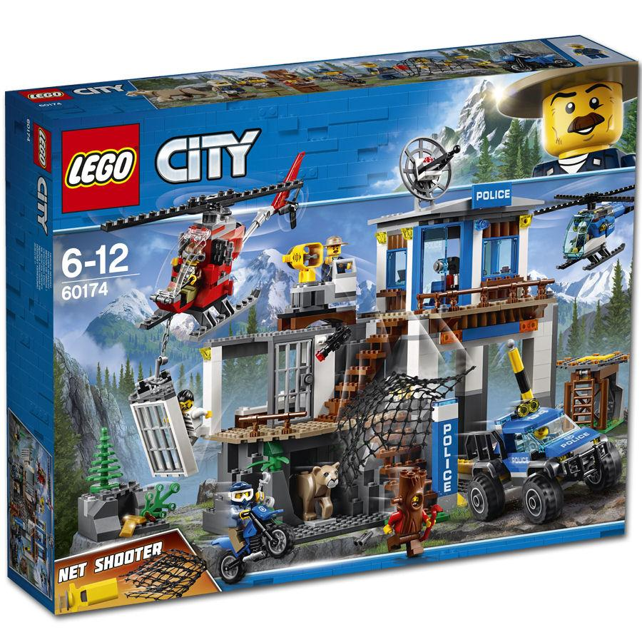 LEGO® 60174 Mountain Police Headquarters