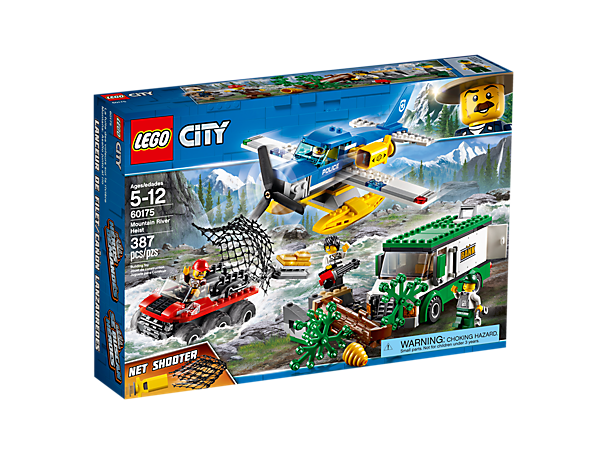 CITY 60175 Mountain River Heist