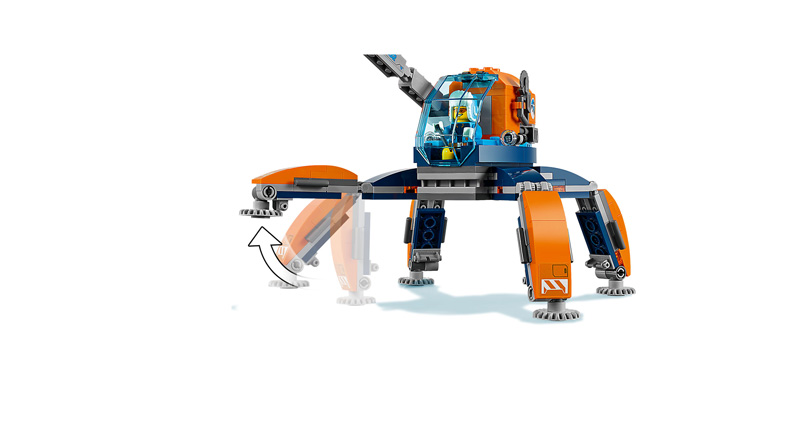 CITY 60192 Arctic Ice Crawler
