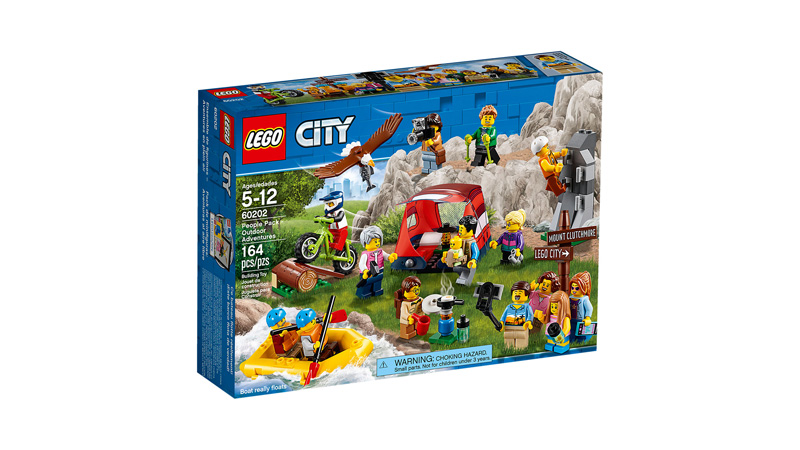 CITY 60202 People Pack Outdoor Adventures