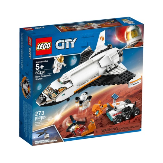 LEGO® CITY 60226 Mars Research Shuttle