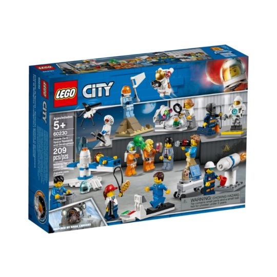 LEGO® CITY 60230 People Pack - Space Research & Development