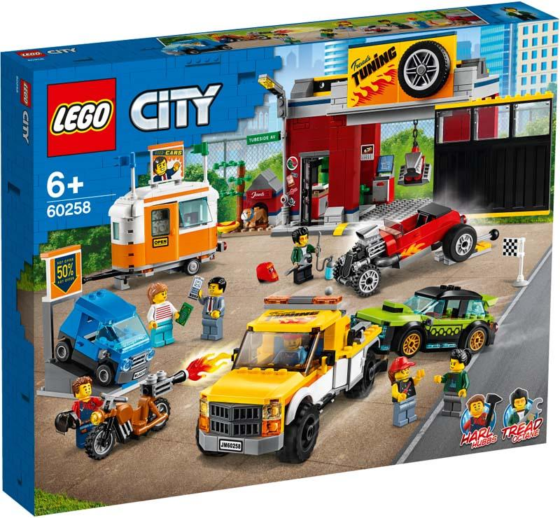 LEGO® CITY 60258 Tuning Workshop