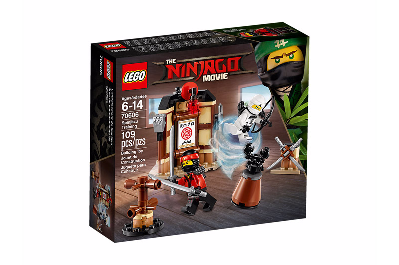 LEGO 70606 NINJAGO Spinjitzu Training