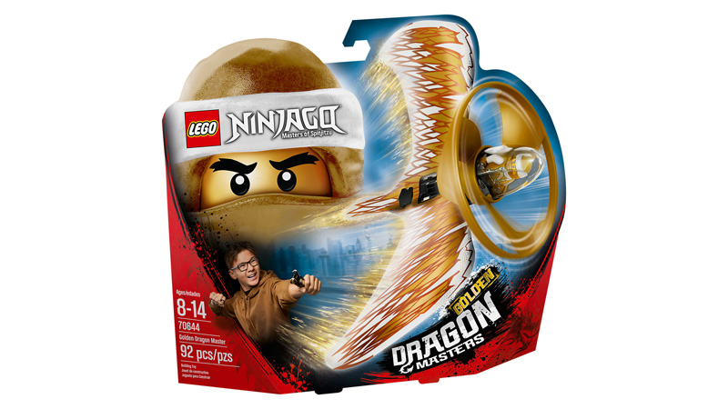 NINJAGO 70644 Golden Dragon Master
