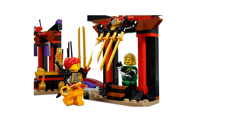 NINJAGO 70651 Throne Room Showdown