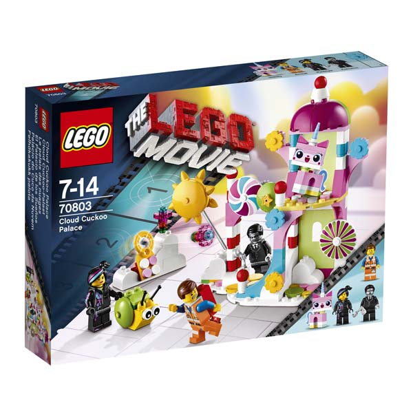 The LEGO Movie 70803 Cloud Cuckoo Palace