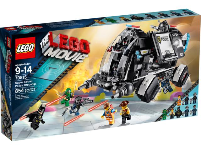 The LEGO® Movie 70815 Super Secret Police Dropship