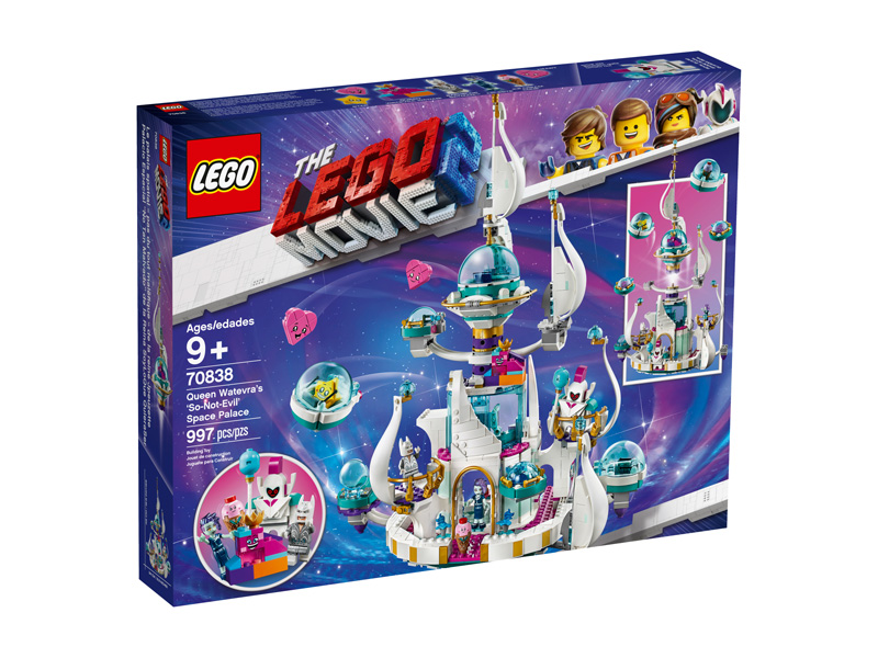LEGO® Movie 2 70838 Queen Watevras So Not Evil Space Palace
