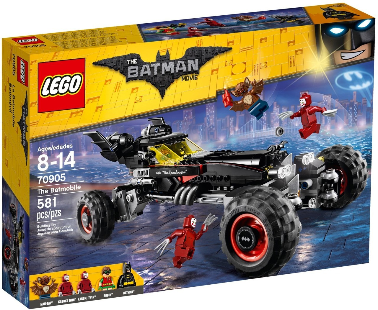The Batmobile 70905