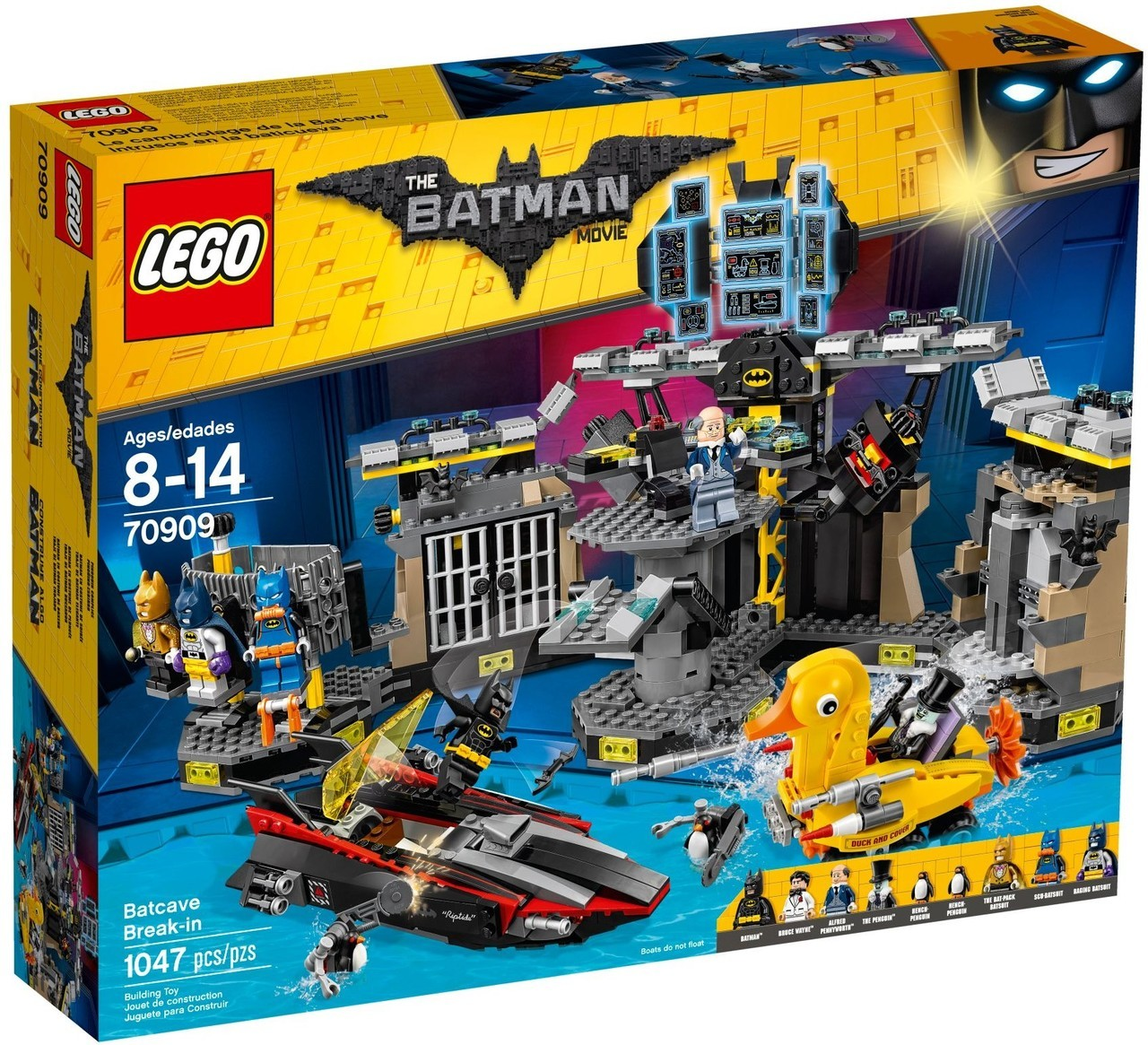 Batcave Break in 70909