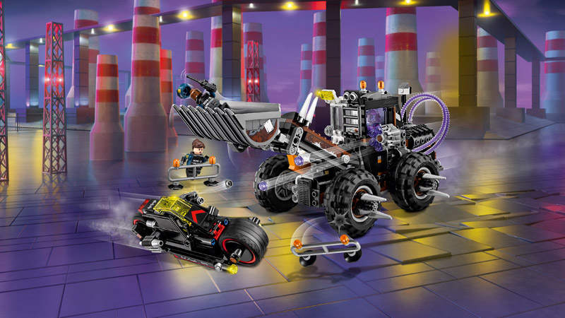 LEGO 70915 Batman Movie Two Face Double Demolition