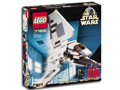 LEGO STAR WARS 7166 Imperial Shuttle