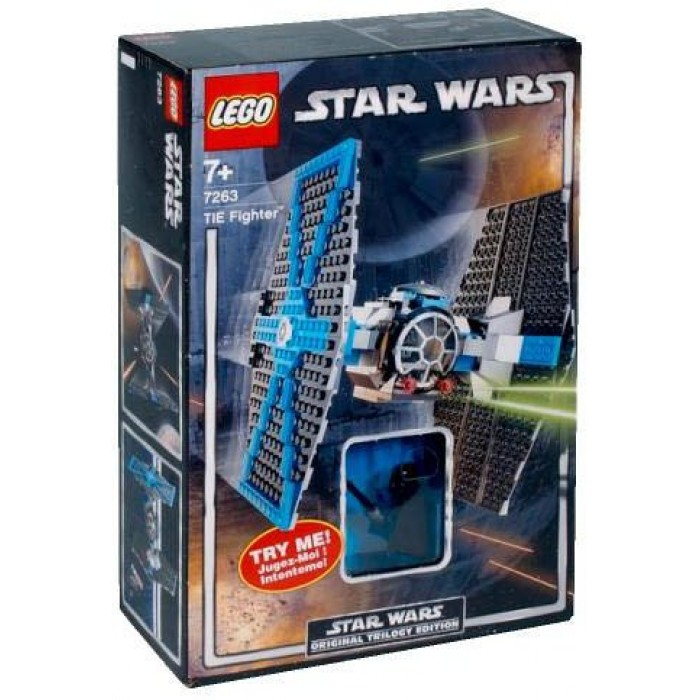 LEGO STAR WARS 7263 TIE FIGHTER with Light Up Vader