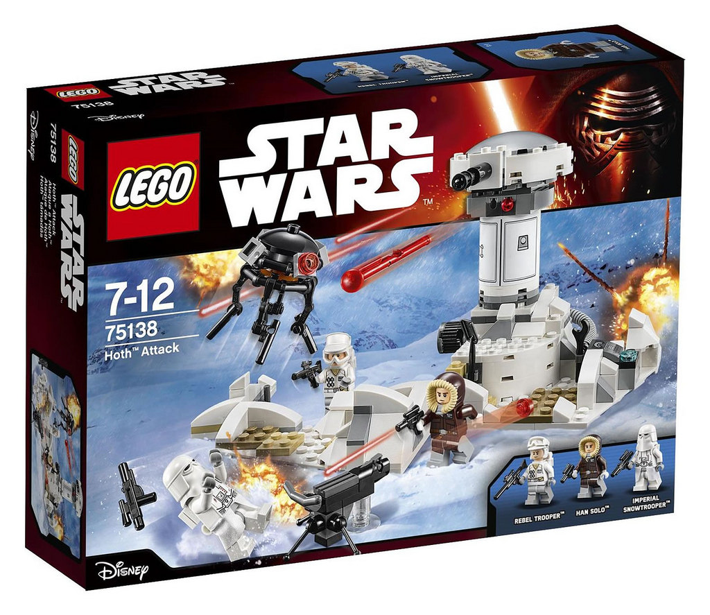 LEGO Star Wars 75138 Hoth Attack Dent