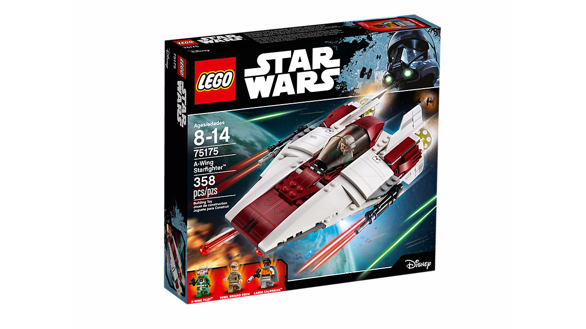 LEGO STAR WARS 75175 A Wing Starfighter