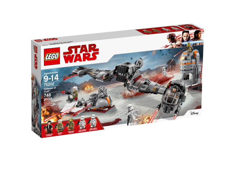 Star Wars™ 75202 Defense of Crait
