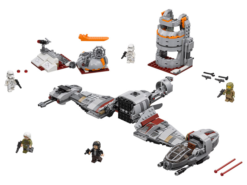 LEGO 75202 Star Wars Defense of Crait