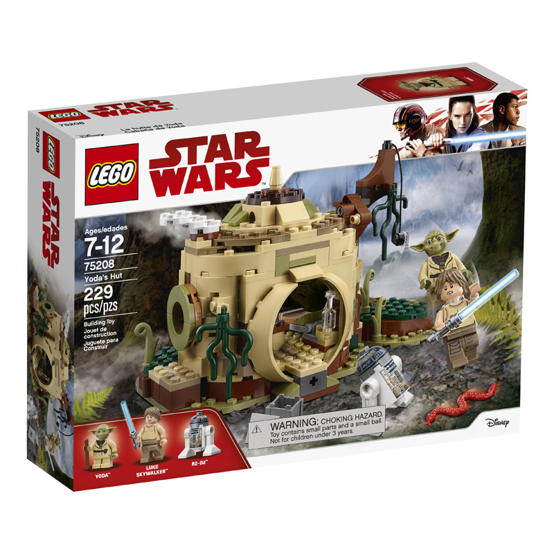 Star Wars™ 75208 Yodas Hut