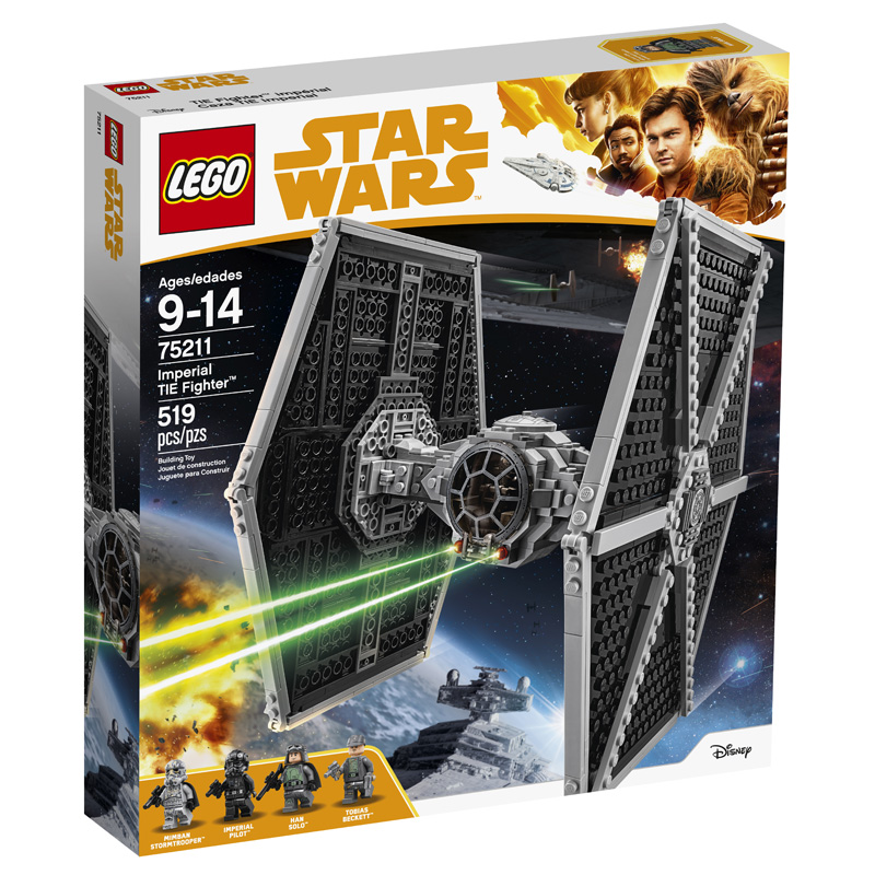 Star Wars 75211 Imperial TIE Fighter