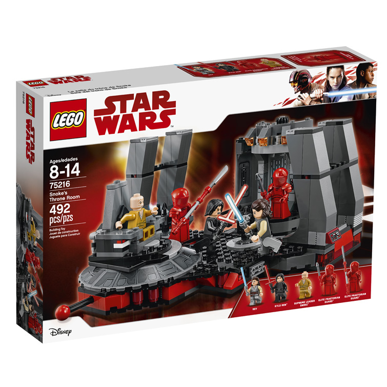 Star Wars 75216 Snokes Throne Room