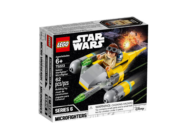 Star Wars™ 75223 Naboo Starfighter Microfighter