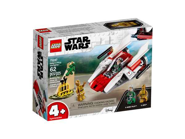 Star Wars™ 75247 Rebel A Wing Starfighter