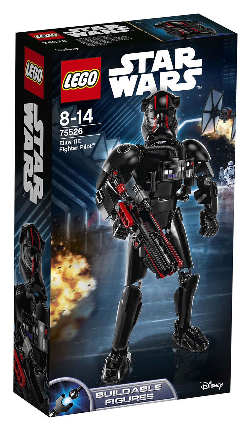 LEGO 75526 Star Wars Elite TIE Fighter Pilot