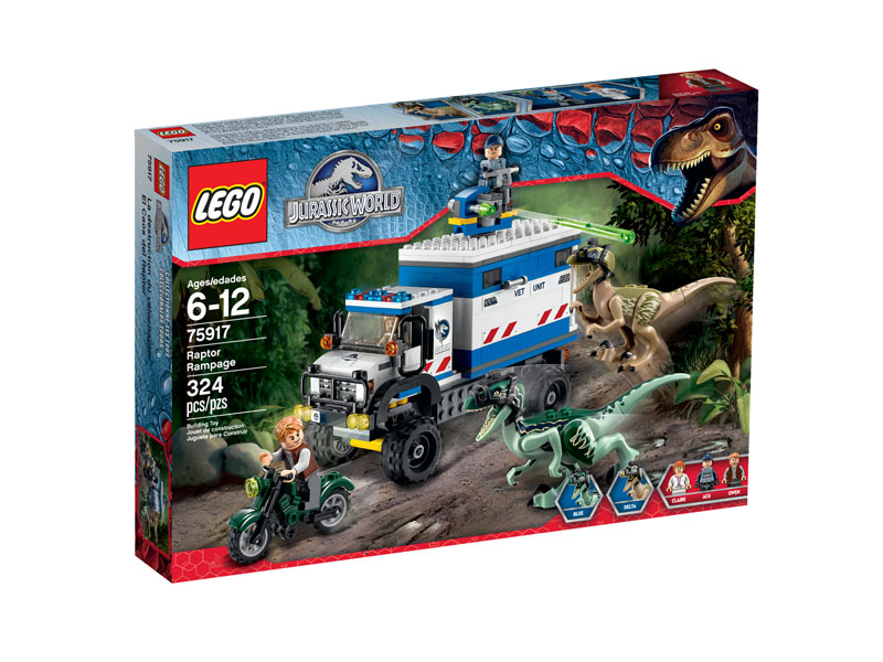 Jurassic World 75917 Raptor Rampage