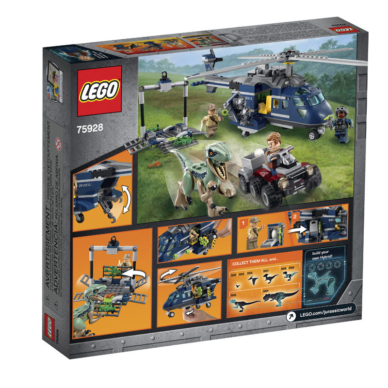 Jurassic World 75928 Blue's Helicopter Pursuit